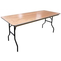 Table plywood 183 x 76 cm