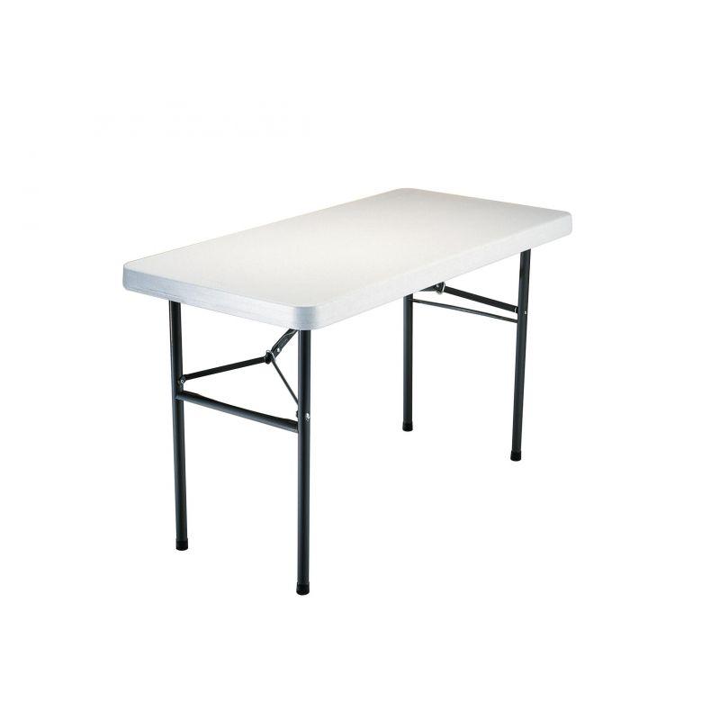 Table pliante 122 x 60 cm