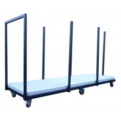 chariot de tables 244 cm
