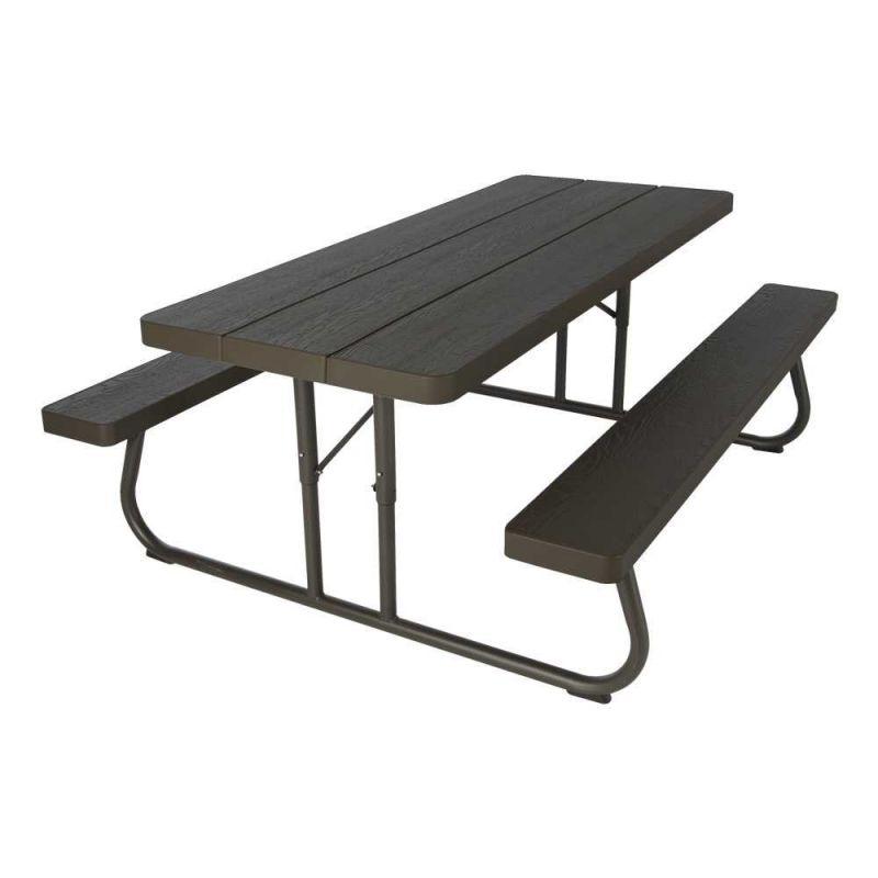 Rechthoekige picknicktafel