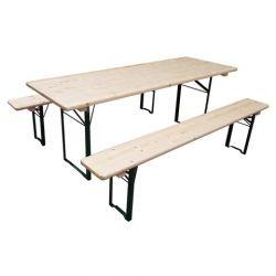 Table set brasserie 220 x 80 cm