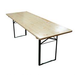 Table brasserie 200 x 70 cm