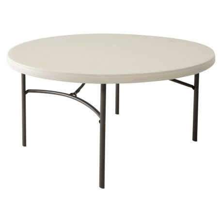 Table banquet ronde 152 cm