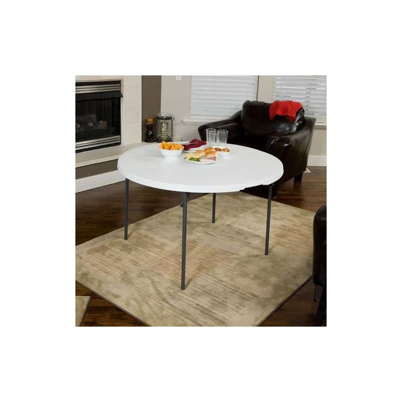 table pliante ronde promatome. Black Bedroom Furniture Sets. Home Design Ideas