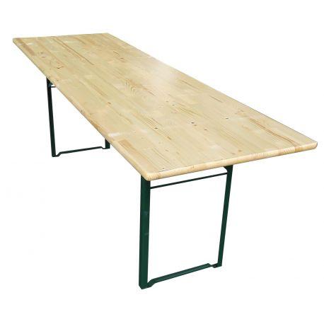 Table brasserie 220 x 80 cm