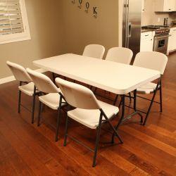 Table banquet 183 x 76 cm
